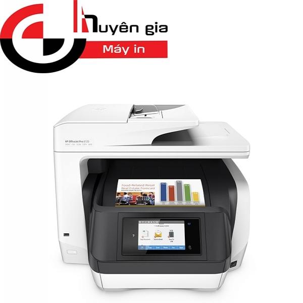 Máy in Phun Màu Đa Chức Năng HP Officejet Pro 8720