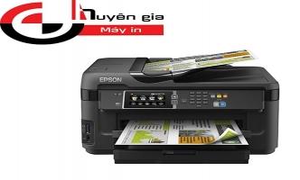 In ấn chuyên nghiệp với máy in phun màu đa chức năng espon A3 7610