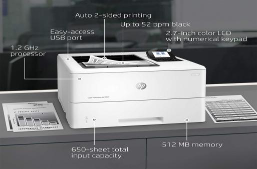 Máy in HP 507dn có tốt không? Review chi tiết máy in đơn năng HP 507dn