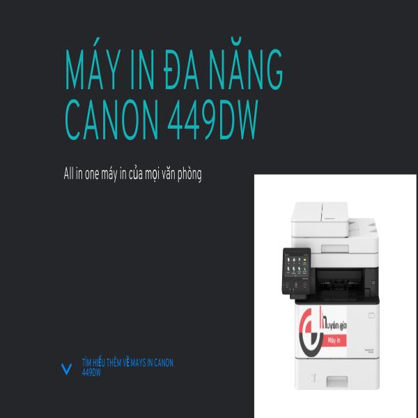Máy in đa chức năng canon MF449dw